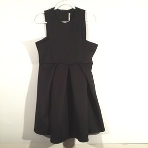 Shein Black Sleeveless Dress
